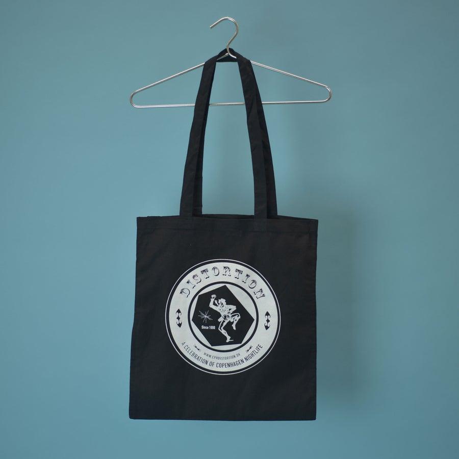 Image of Black Inverted Logo Tote Bag