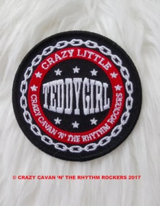 """Image of JUST ARRIVED! - """"CRAZY LITTLE TEDDY GIRL"""" PATCH"""
