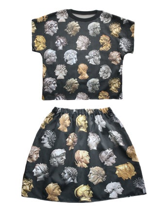 Image of Emperors Top and Skirt for Andra