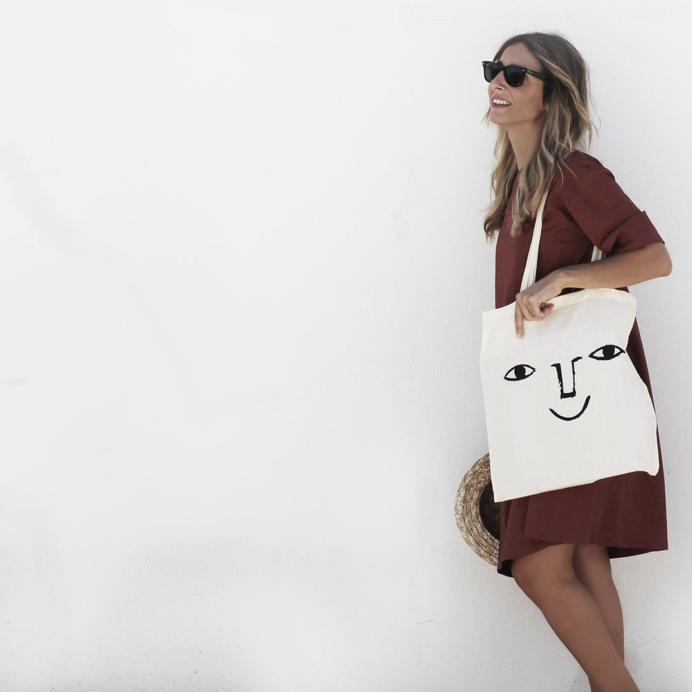 Image of TOTE BAG | HAPPY FACE