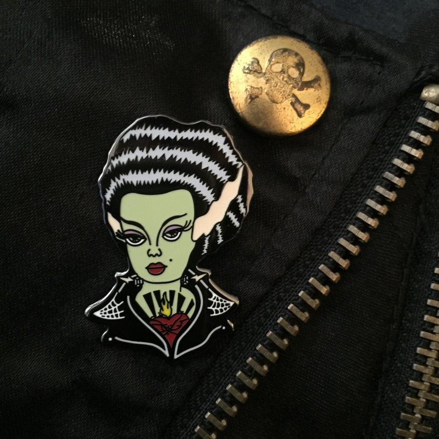 Image of Monsterbilly Queen Hard Enamel Pin