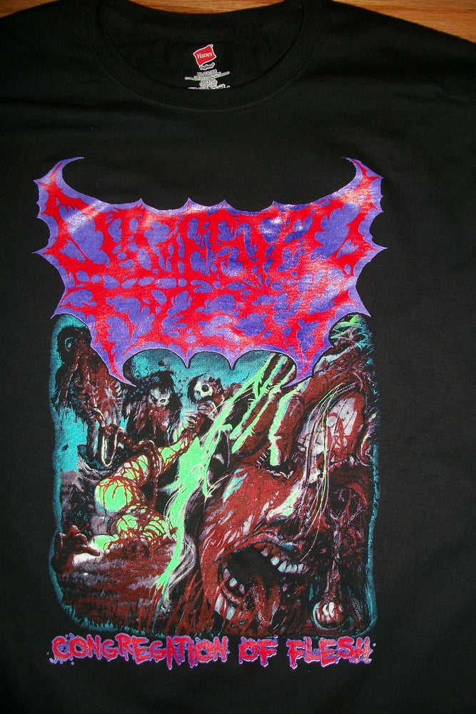 Image of DIGESTED FLESH T SHIRT (IN STOCK)