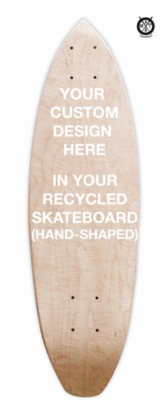 Image of Skate Art (Commision Artwork in your recycled Skateboard) Hand-shaped by @matdisseny