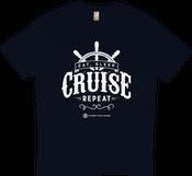 Image of Eat, Sleep, Cruise & Repeat T-Shirt