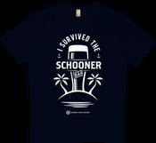 Image of 'I Survived The Schooner Bar' T-Shirt