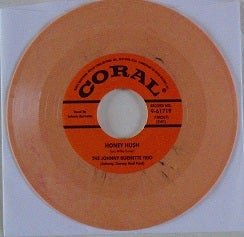"Image of 7"" Johnny Burnette Trio : Train Kept A Rollin / Honey Hush."