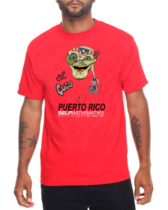 Image of RED- EL CUCO CLASSIC T ORIGINAL- LIMITED SPECIAL EDITION