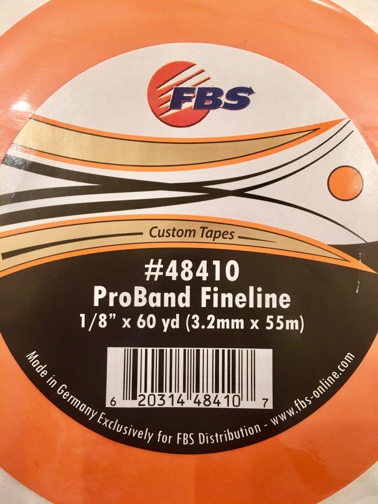 Image of FBS TAPE - ORANGE FINELINE 1/8