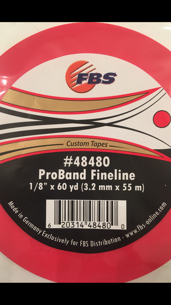 Image of LA ROUGE FBS FINELINE TAPE 1/8