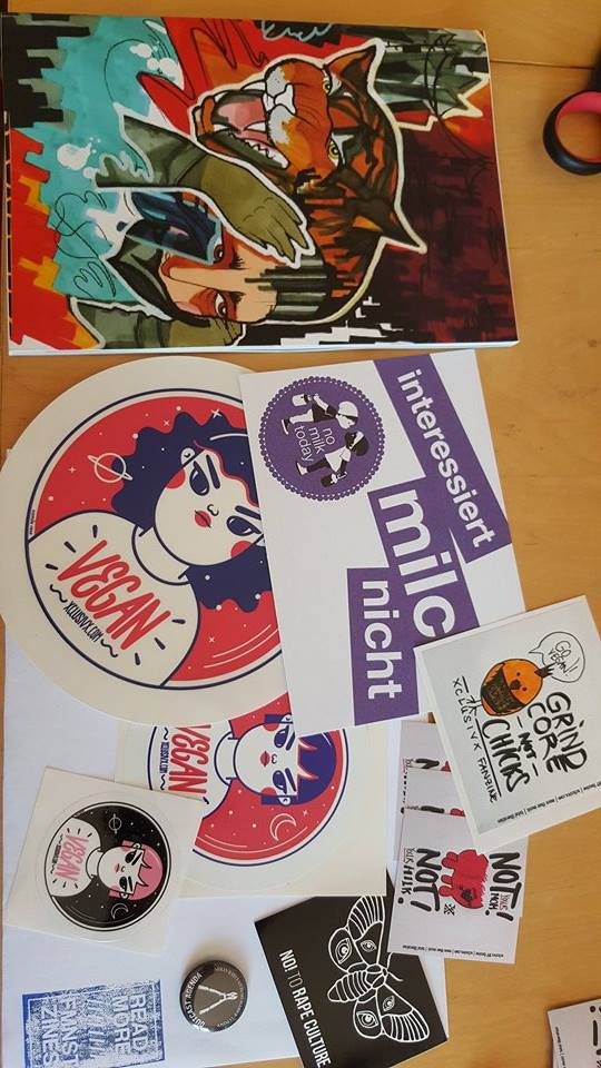 Image of LAST CHANCE: xclusivx #8 BUNDLE + high quality Camixvx stickers + OUTCAST AGENDA pin!