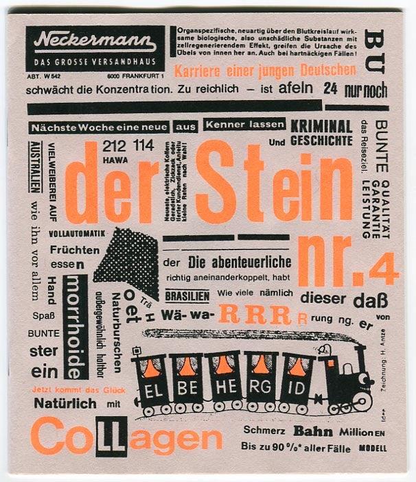 Image of Der Stein nr.4 - Collagen