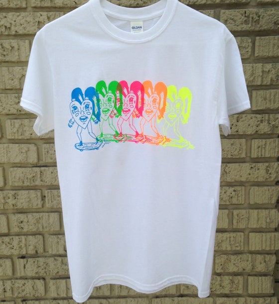 "Image of ""Grind the rainbow "" tshirt"