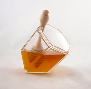 Image of Hive Honey Set - Clear Glass