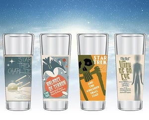 Image of Star Trek The Original Series Fine Art Shot Glasses