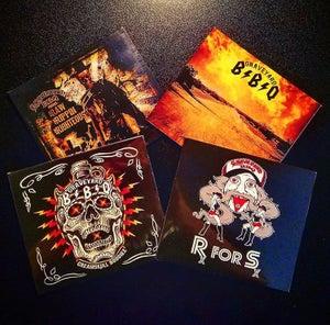 "Image of E.P SERIES: ""Sex, Booze, Blues, & RockNRoll"" (4 CD SET)"