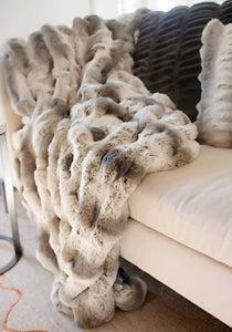 Image of Fur Throw Deluxe 60x72