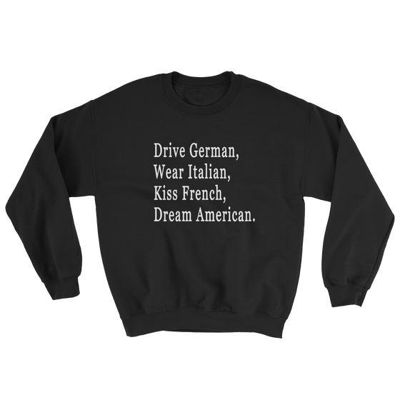 "Image of ""DREAM AMERICAN"" SWEATSHIRT"