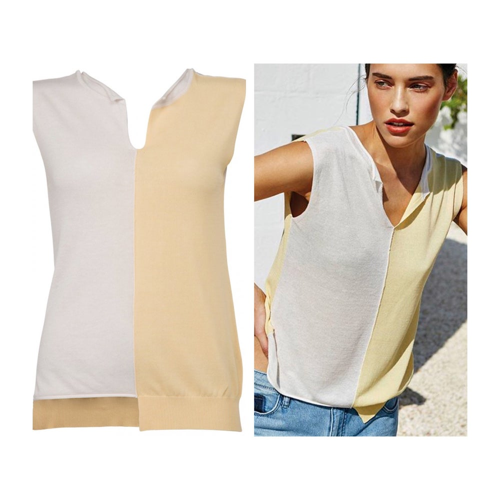 Image of Cotton mix singlet