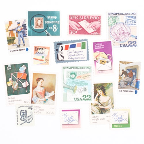 Image of Keep in Touch Vintage Stamps