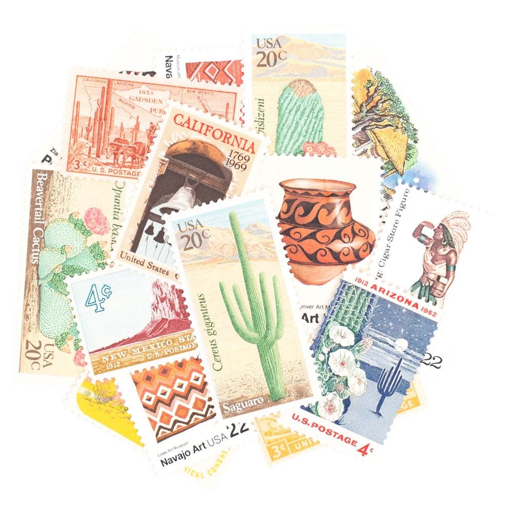 Image of Southwestern Vintage Stamps