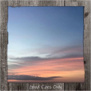 Image of Good Vibes Only Framed Statement