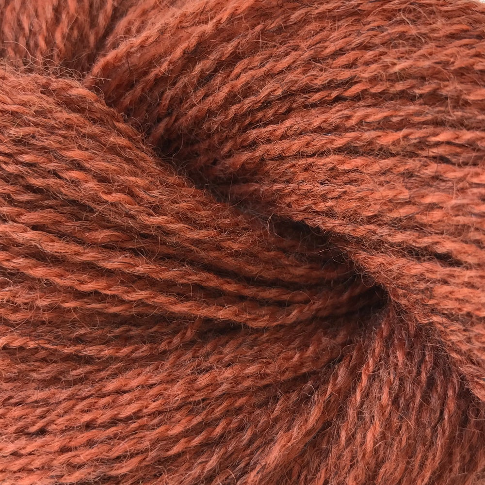 Image of CAMILLA VAD LAMBSWOOL - RUST (FV. 23s)