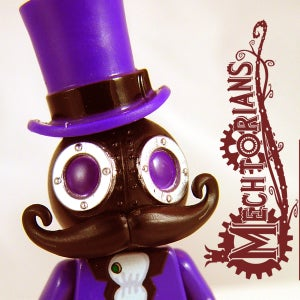 Image of NEW!  Mr. Mourn Mechtorian custom minifigure