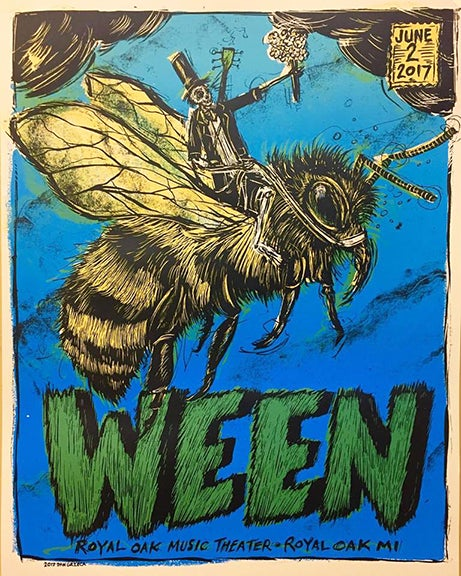 Image of Ween Royal Oaks Michigan show
