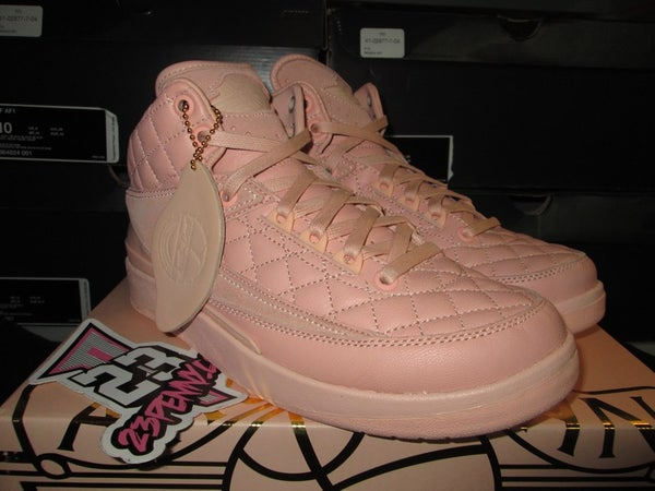 "Air Jordan II (2) Retro ""Just Don: Arctic Orange"" GS - areaGS - KIDS SIZE ONLY"