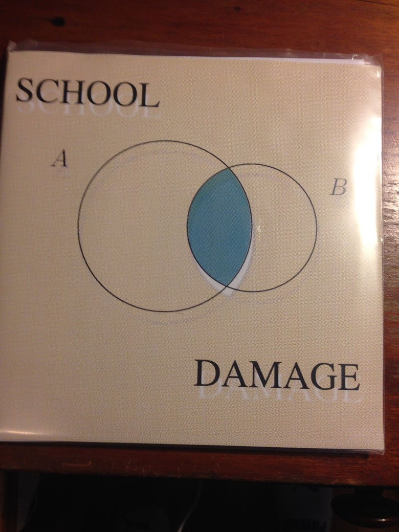 Image of School Damage - Sick of You 7""