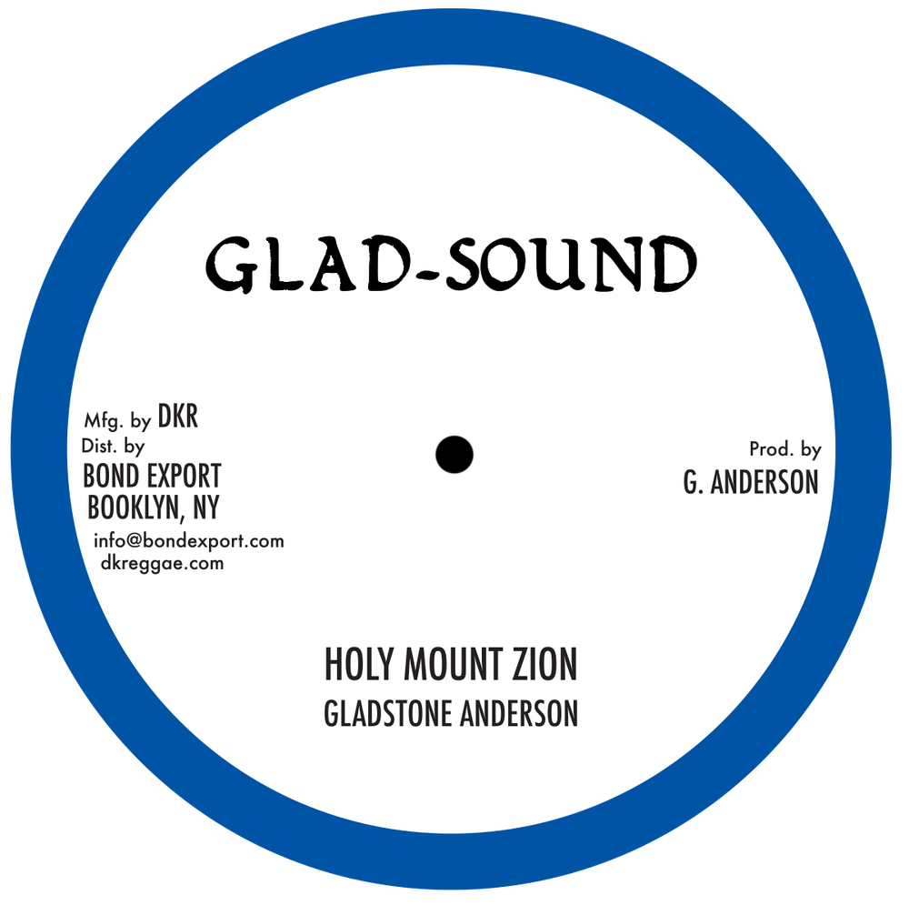 "Image of Gladstone Anderson - Holy Mt. Zion / Holy Children 10"" (Glad Sound)"