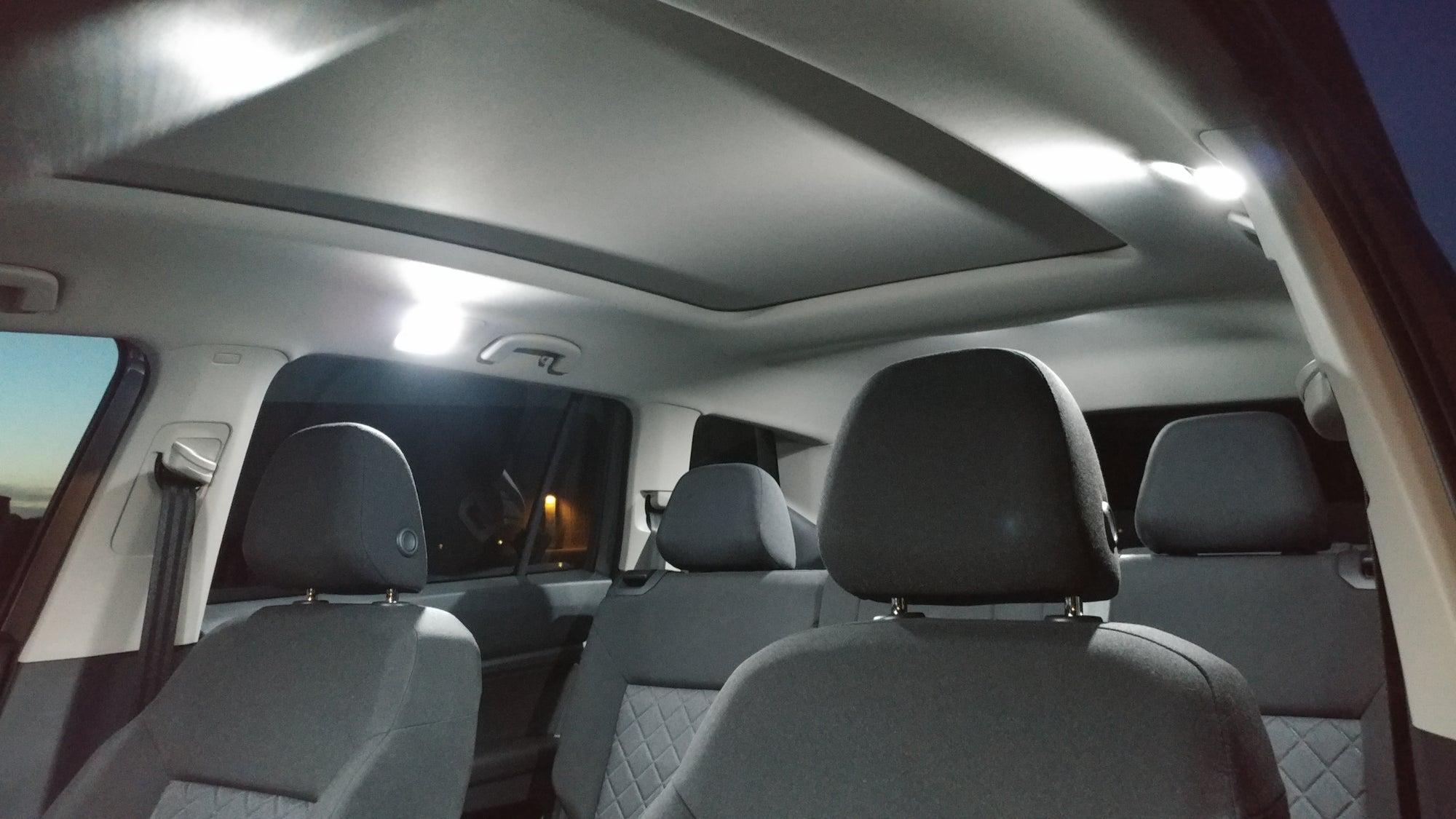 complete error free interior led kit fits volkswagen atlas deautokey. Black Bedroom Furniture Sets. Home Design Ideas