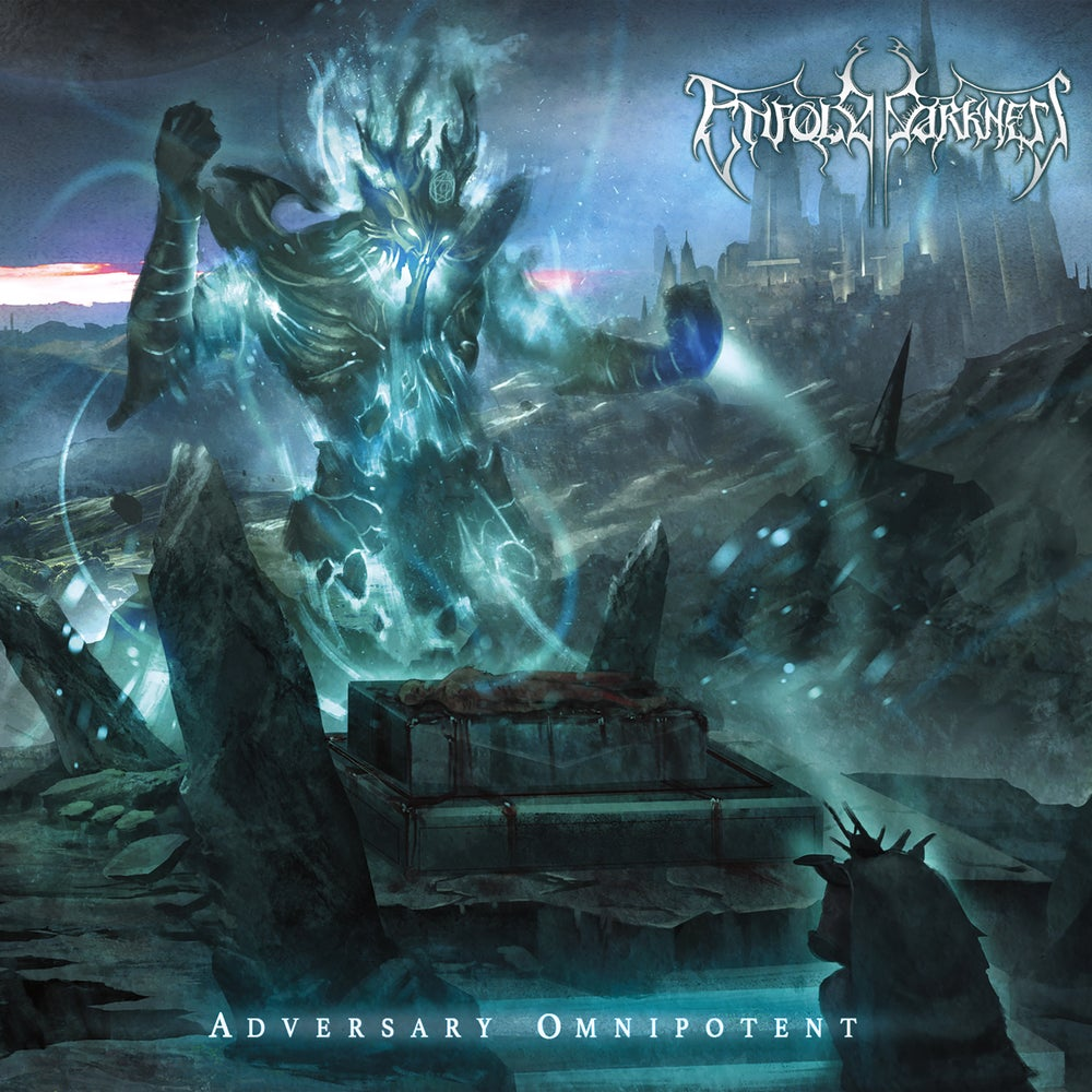 Image of ENFOLD DARKNESS - Adversary Omnipotent - CD [Pre-Order]