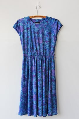 Image of Blue Garden Dress