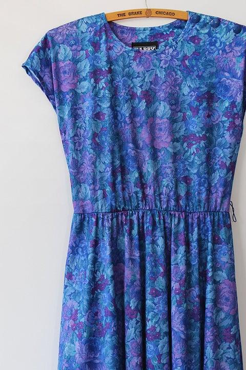Image of Blue Garden Dress
