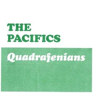Image of EP  The Pacifics : Quadrafenians EP.  (The Irish Milkshakes)