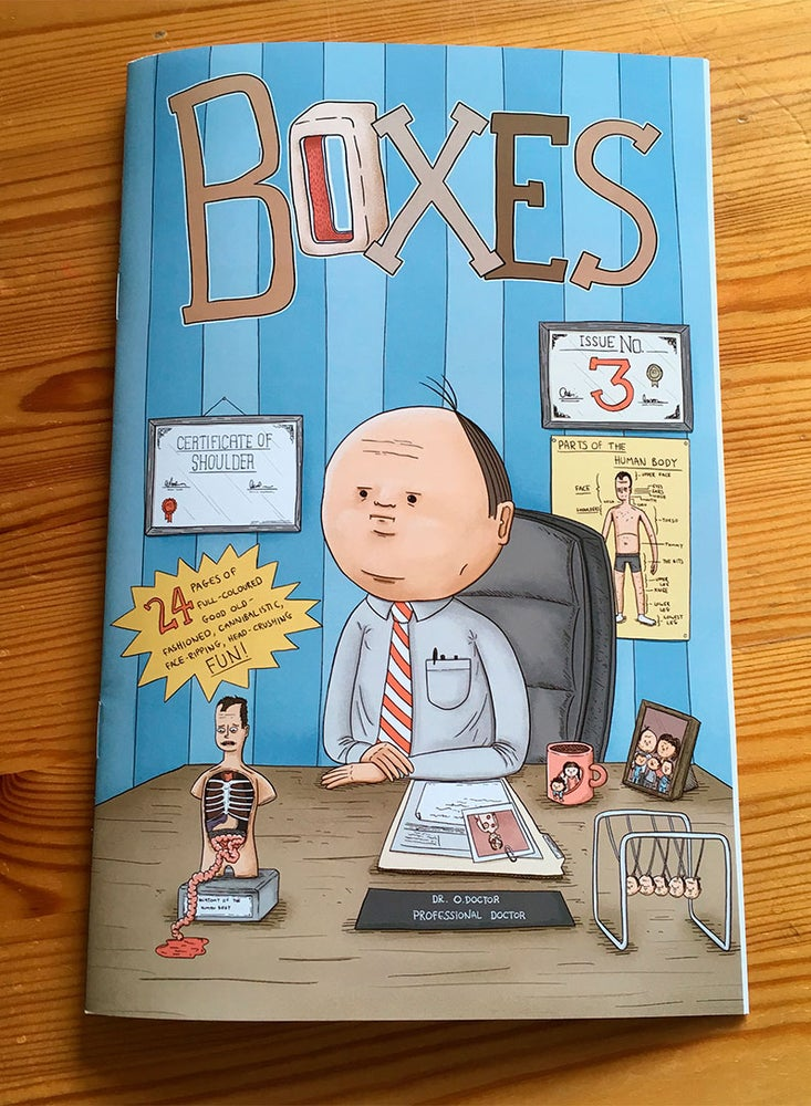 Image of Boxes - Issue 3