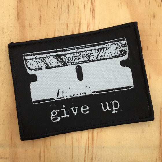 Image of woven 'original razor' patch