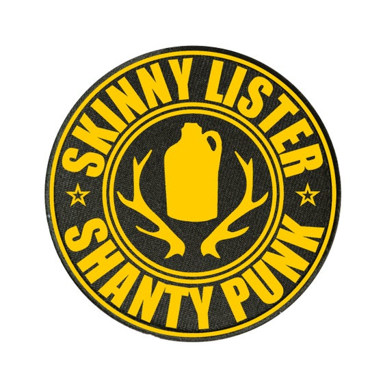 Image of Blue & Black Shanty Punk Patches