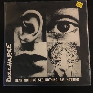 "Discharge ""Hear Nothing See Nothing Say Nothing"" 12"" - Boulevard Trash"