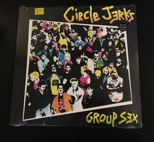 "Circle Jerks ""Group Sex"" 12"" - Boulevard Trash"