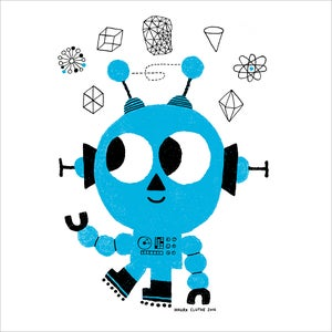 Image of Happy Blue Bot!