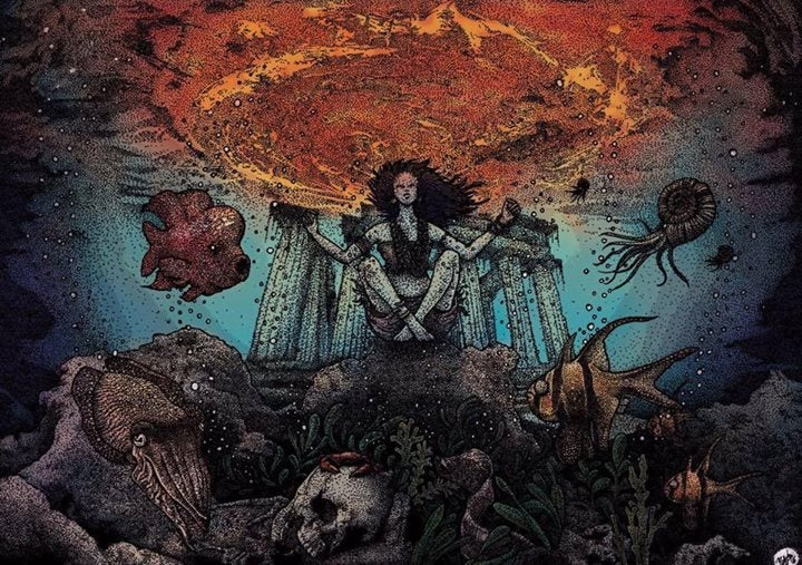 Image of Vokonis - The Sunken Djinn CD