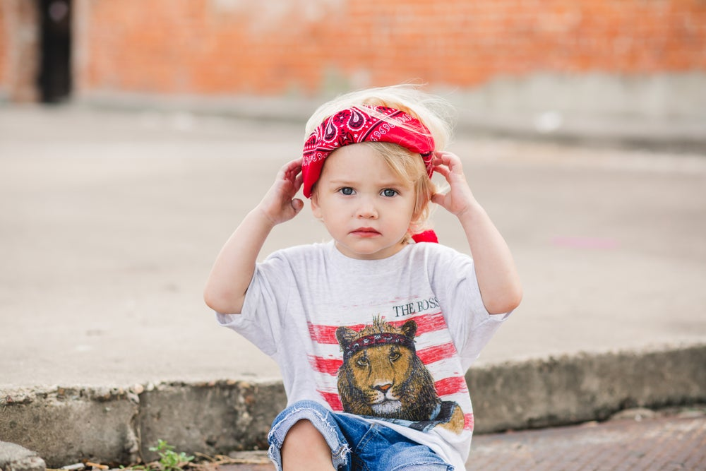Image of Youth The Boss Lion Short Sleeve tee