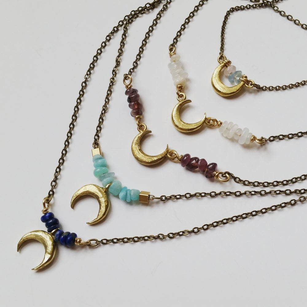 Image of Crescent Necklace