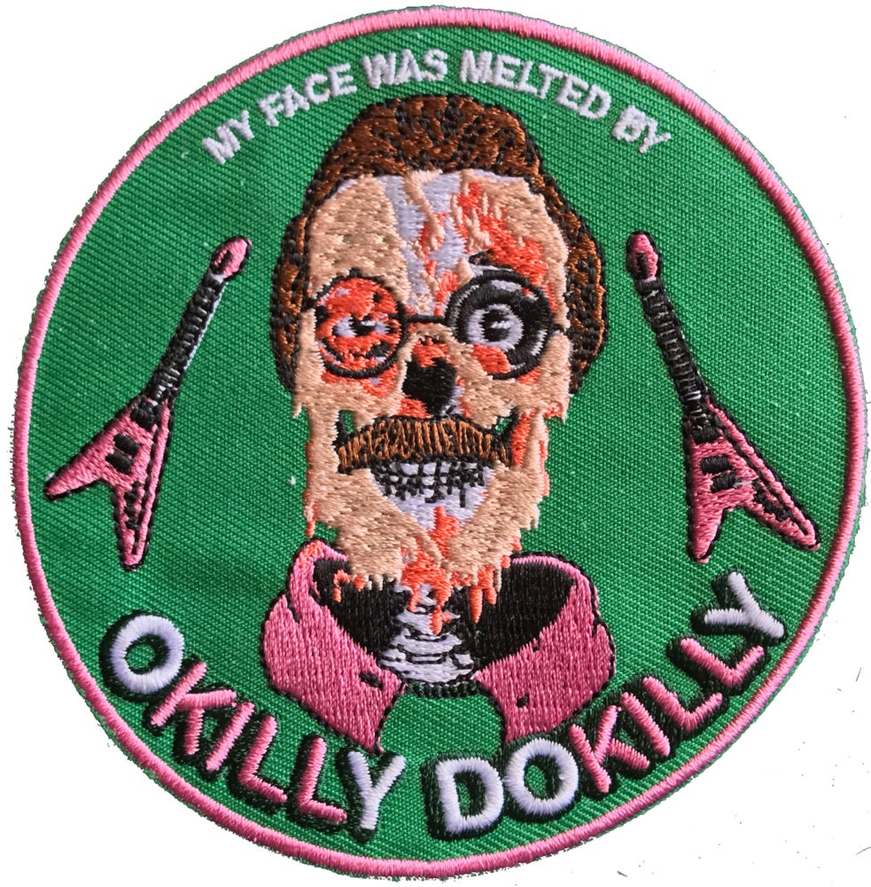 Image of My Face Was Melted Patch - 4""