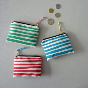 Image of Stripe Small Purse
