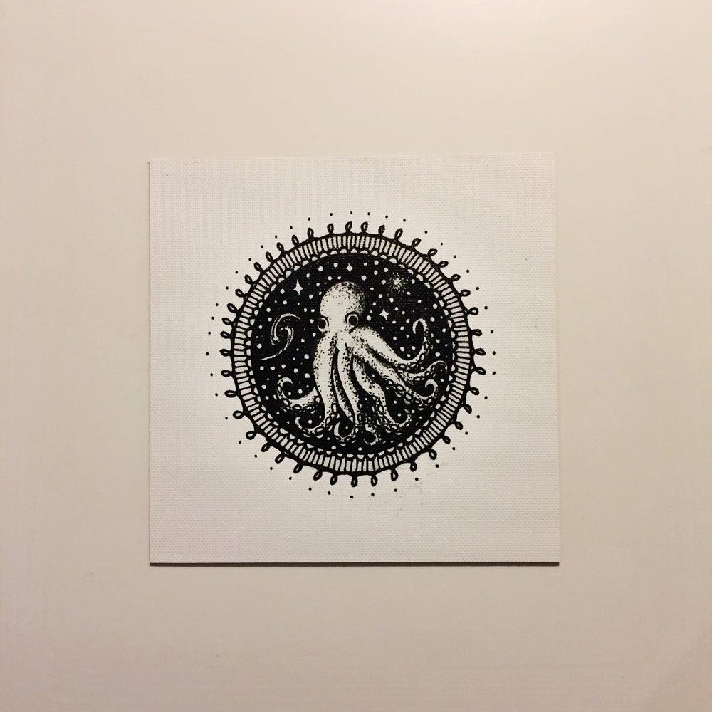 "Image of ""Olli the Octopus"" - Mini Canvas Print"