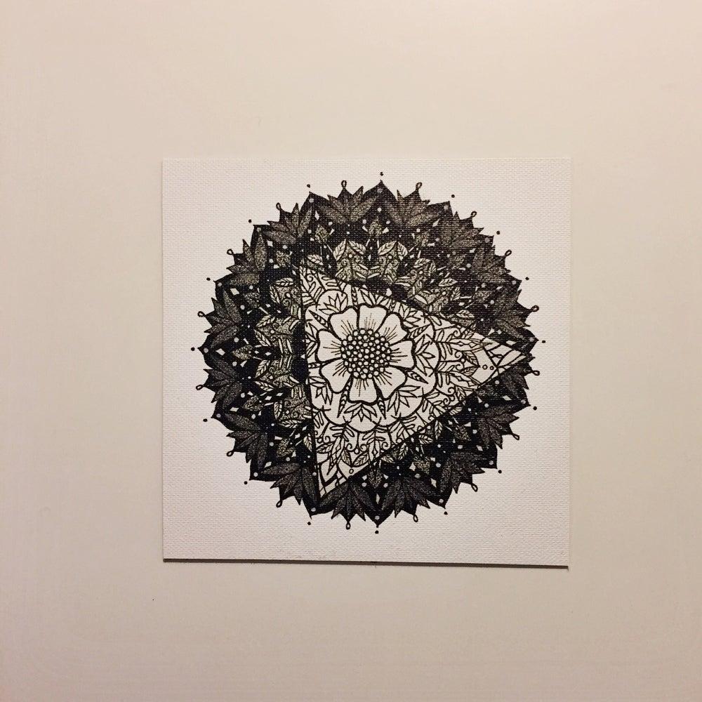 "Image of ""Trois"" - Mini Canvas Print"