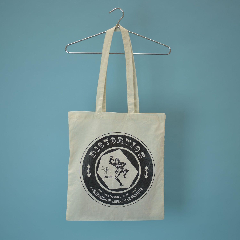 Image of White Logo Tote Bag - NEW